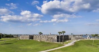 Vieux fort en Floride.