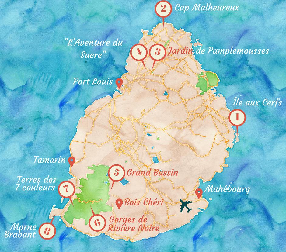 Connu Mes coups de cœur : 8 lieux à voir à l'île Maurice - Carigami, le  EQ76