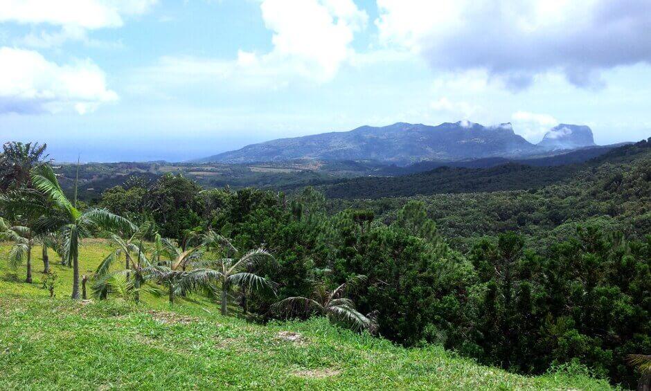 Montagne à l'île Maurice.