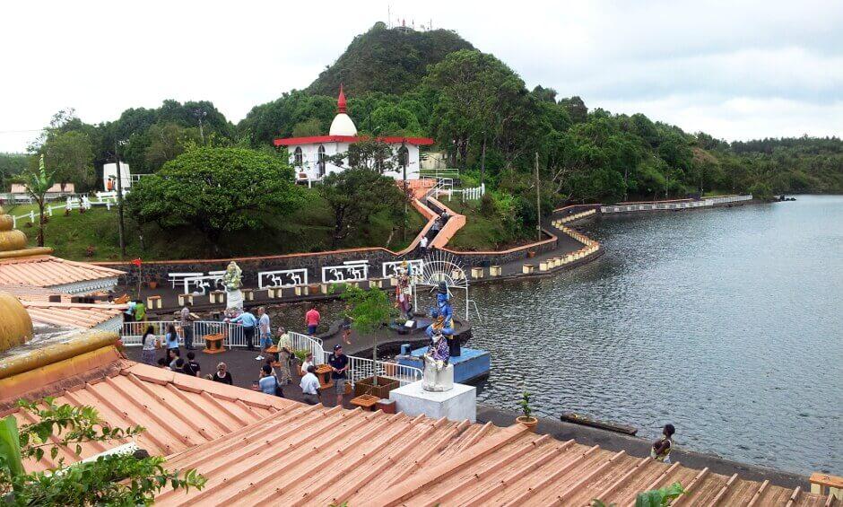 Temple hindou à l'île Maurice.