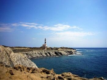 Un phare à Minorque.