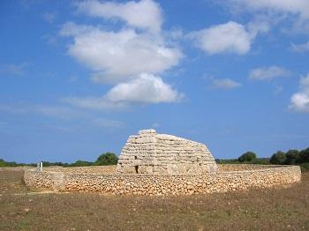 Site archéologique à Minorque.