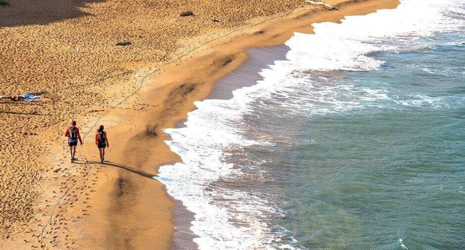 Plage de Playa de Cavalleria à Minorque.