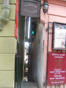 Une ruelle à Prague