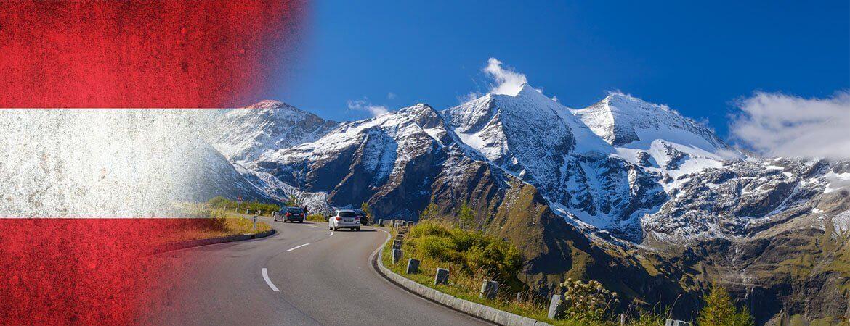 Une route en Autriche.