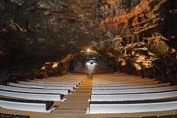 Auditorium souterrain à Lanzarote