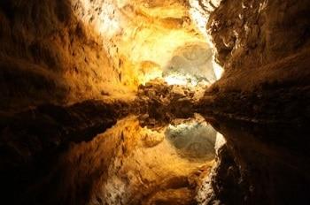 Grotte à Lanzarote.