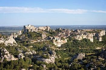 Un village perché en Provence.