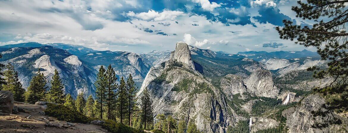 Vue du parc national de Yosemite,