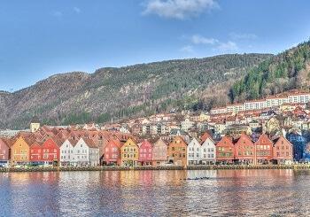 Le port de Bergen.
