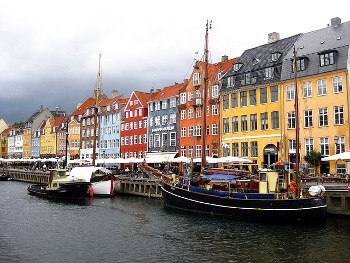 Le port de Copenhague.