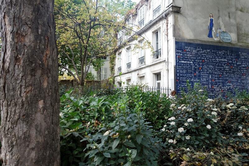 Square de Montmartre, à Paris.