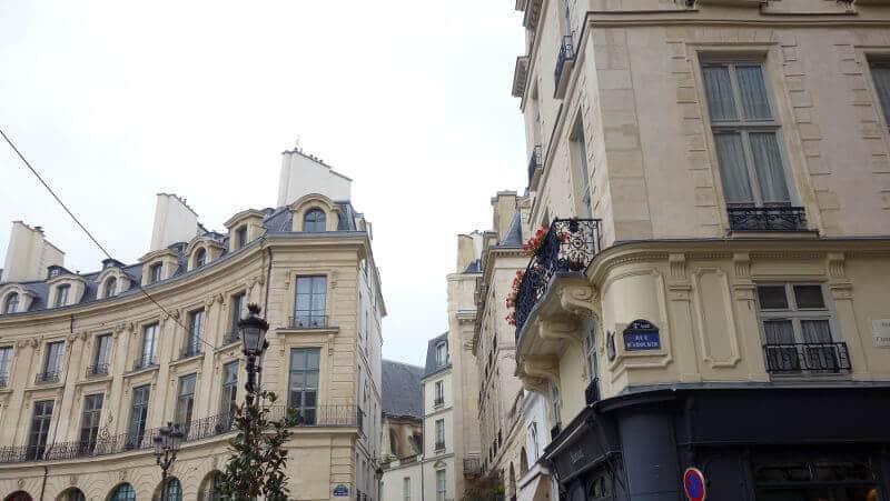 La place des Victoires à Paris.