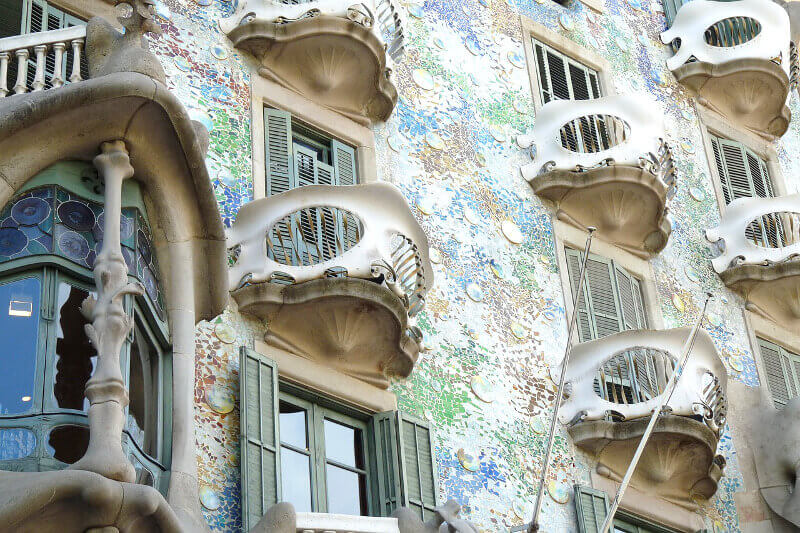 La Casa Batlló à Barcelone.