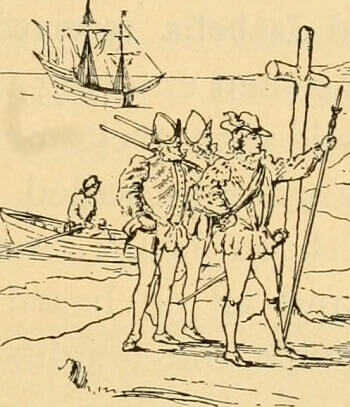 Dessin de Christophe Colomb.