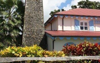 Vue de l'écomusée de la Martinique.