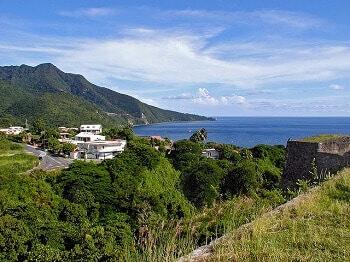 Panorama de la Guadeloupe.