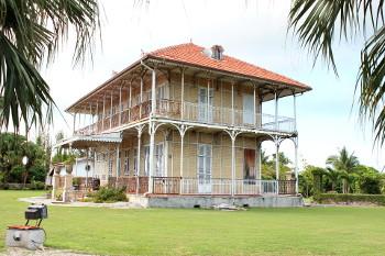 Maison coloniale en Guadeloupe.