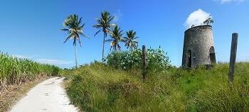 Moulin en Guadeloupe.