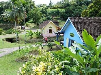 Vue du Musée de la Banane en Martinique.