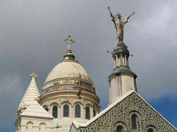 Eglise en Martinique.
