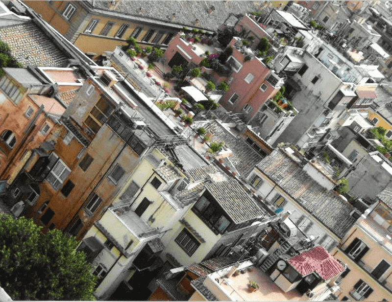 Maisons de Rome.