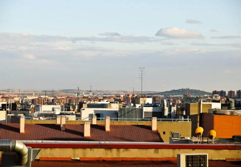 Terrasse à Madrid.