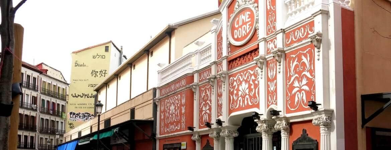 Cinéma à Madrid.
