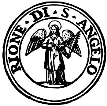 Logo du quartier Sant'Angelo à Rome.
