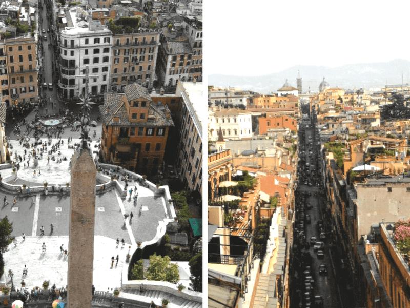 Panoramas sur Rome.