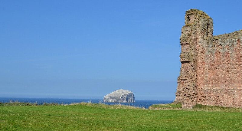Un château hanté en Écosse.