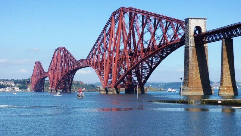 Le pont du Forth en Écosse.