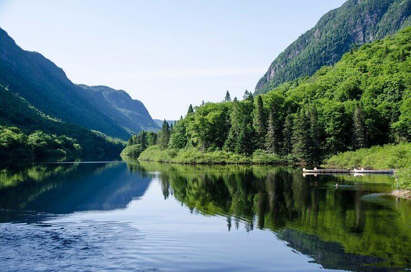 Parc national au Québec.