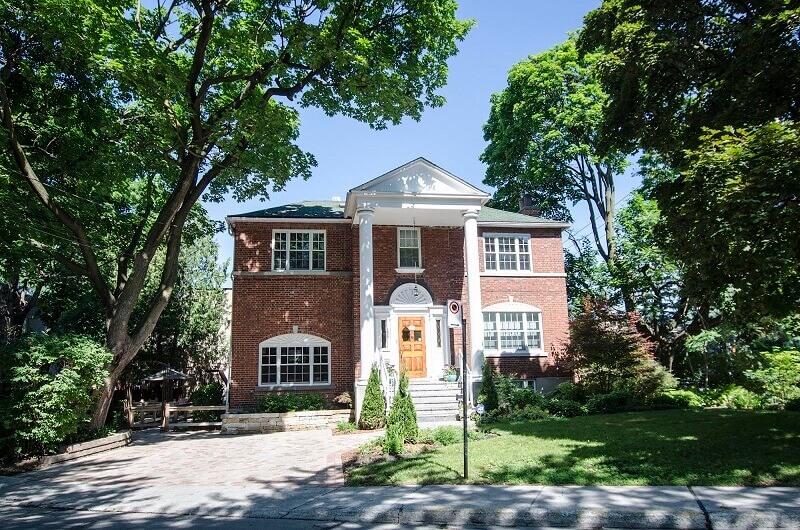 Une maison à Montréal.
