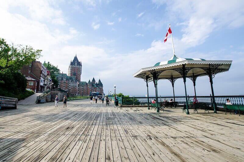 Vue du Vieux-Québec.