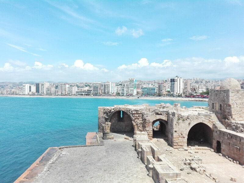 Vue de Sidon.