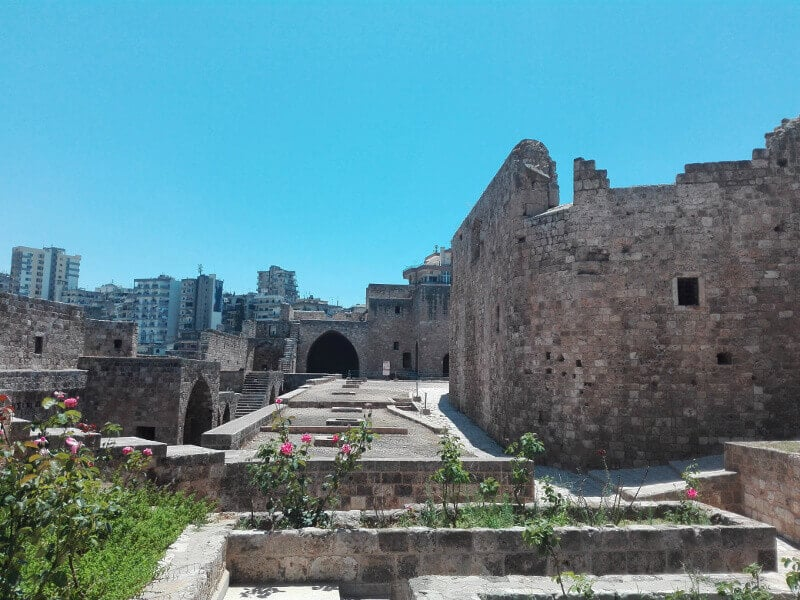 Château-fort au Liban.