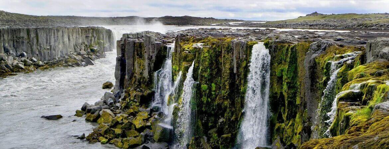 Cascade en Islande.