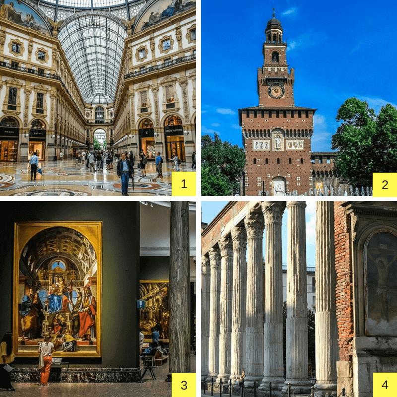 Monuments de Milan.