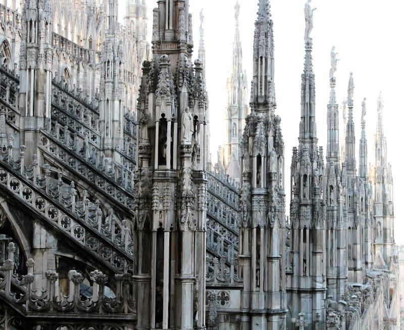 Cathédrale de Milan.