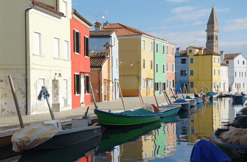 Burano près de Venise.
