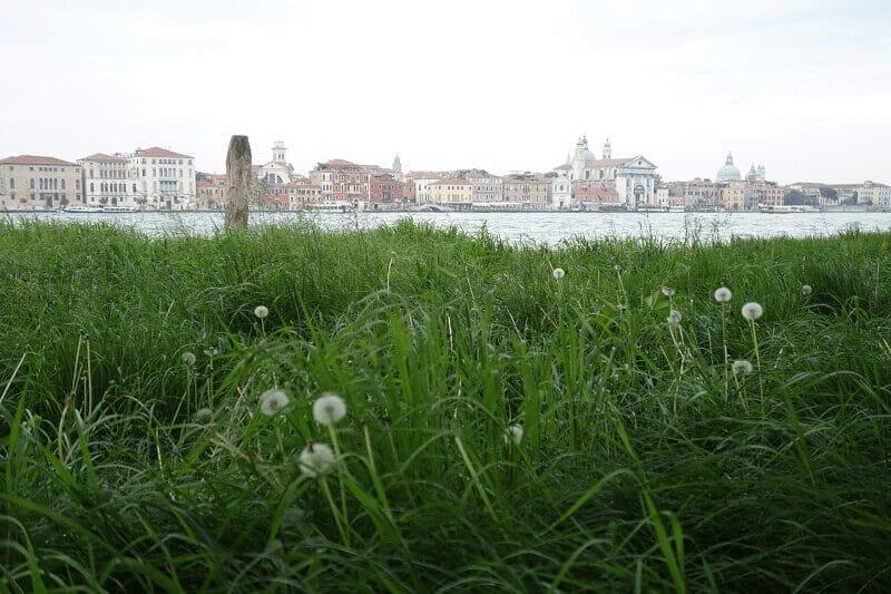 Vue sur Venise.