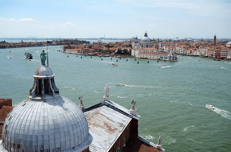 Panorama sur Venise.