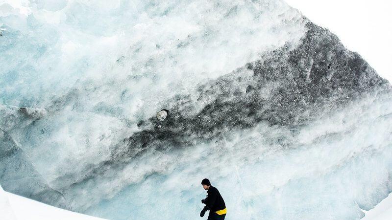 Un glacier en Islande.