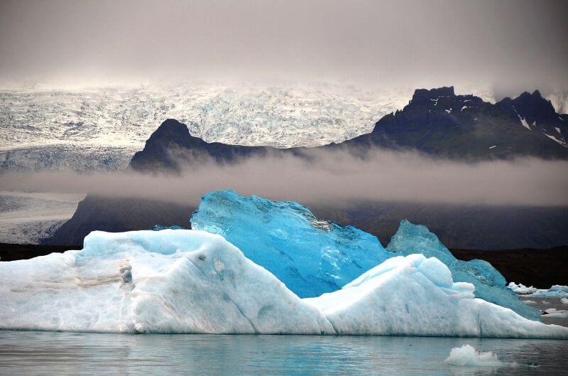 Lac en Islande.