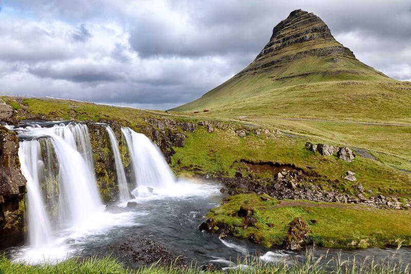 Montagne en Islande.
