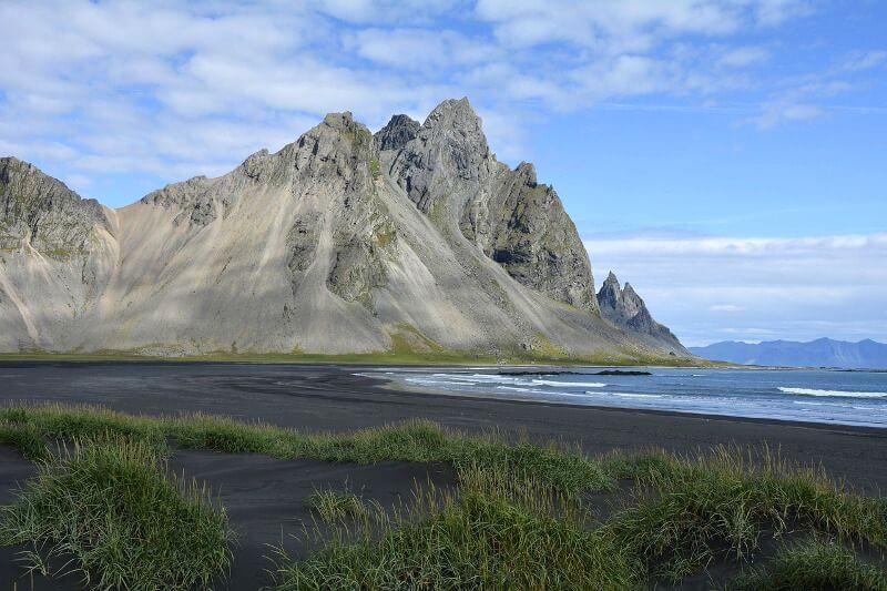 Plage noire en Islande.