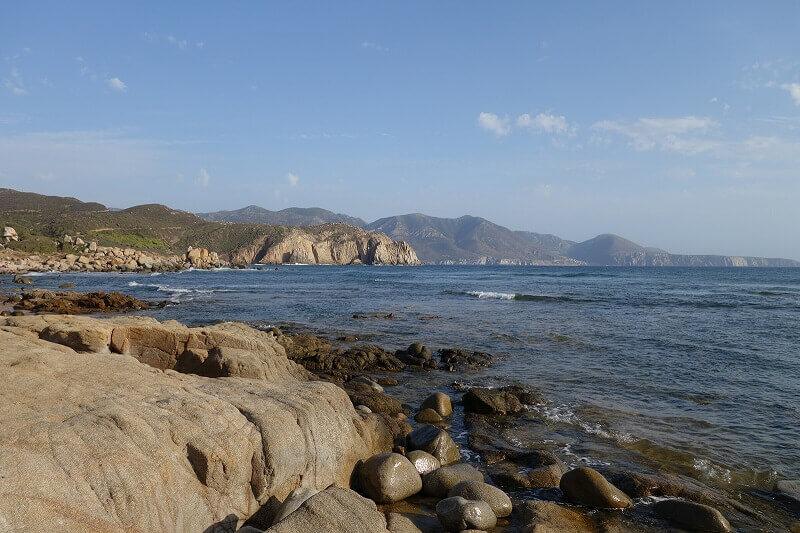 La mer en Sardaigne.