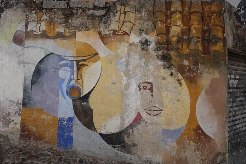 Street art en Sardaigne