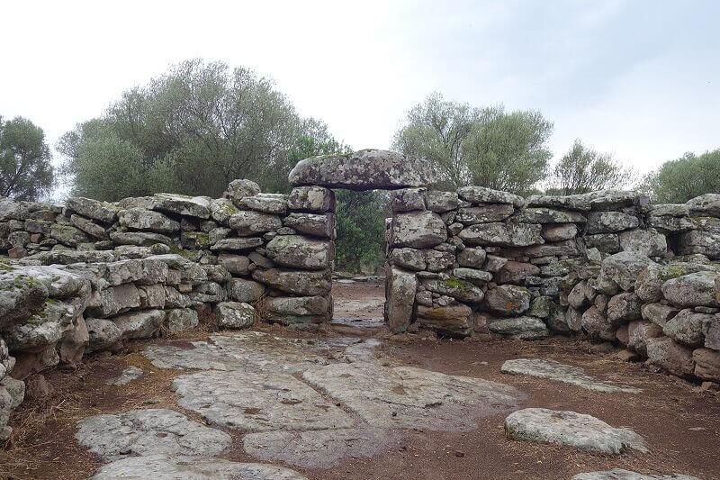 Temple en Sardaigne.